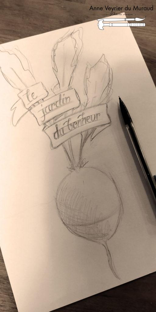 Potes en joie, dessin, enseigne par Anne Veyrier du Muraud