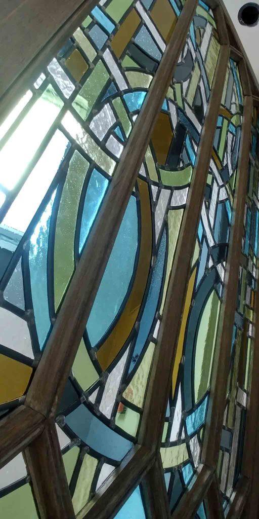 A Veyrier du Muraud détail vitrail